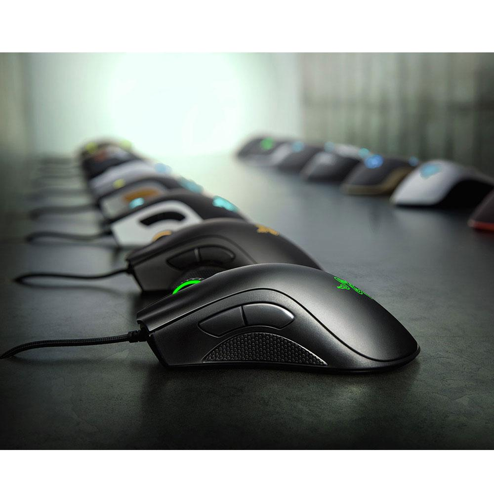 Razer Deathadder Essential 6,400 DPI Optical Sensor 5 Hyperesponse Buttons Gaming Mouse - Xcite Audio