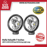 Genuine Hella Valuefit 7 Inches 20W 10-30V DC Off-Road LED Driving Light Lamp - Xcite Audio
