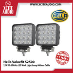 Genuine Hella Valuefit S2500 25W 10-30Volts LED Work Light Lamp 800mm Cable - Xcite Audio