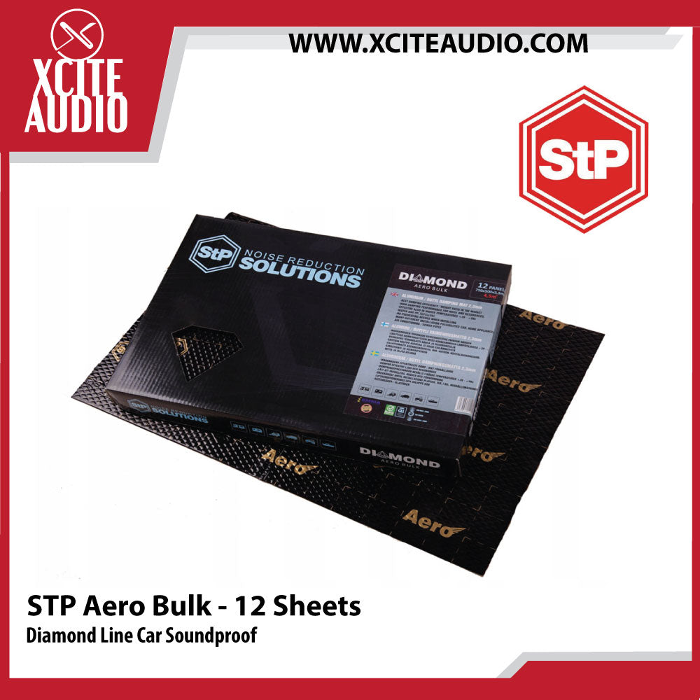 STANDARTPLAST Diamond Line Aero Bulk Pack Car Soundproof - 12 Sheets - Xcite Audio