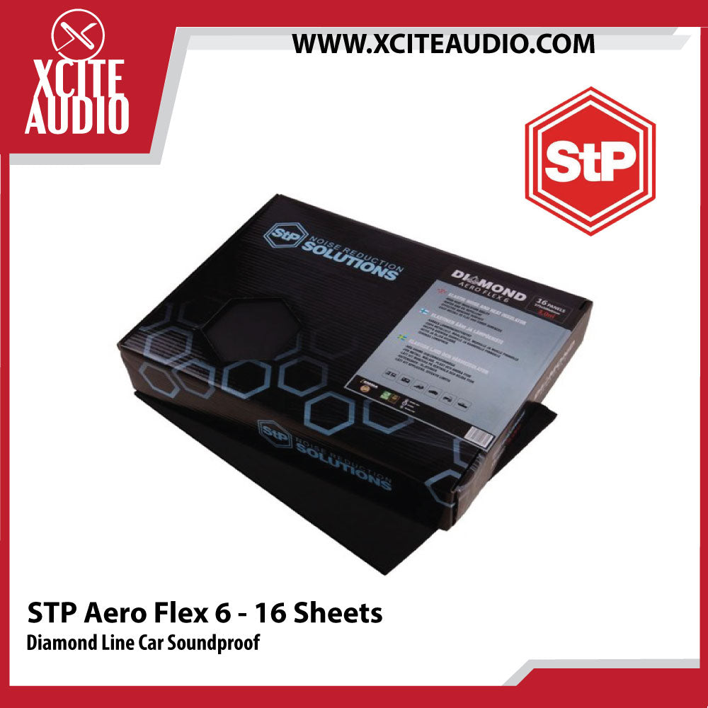 STANDARTPLAST Diamond Line AeroFlex 6 Car Soundproof - 16 Sheets - Xcite Audio