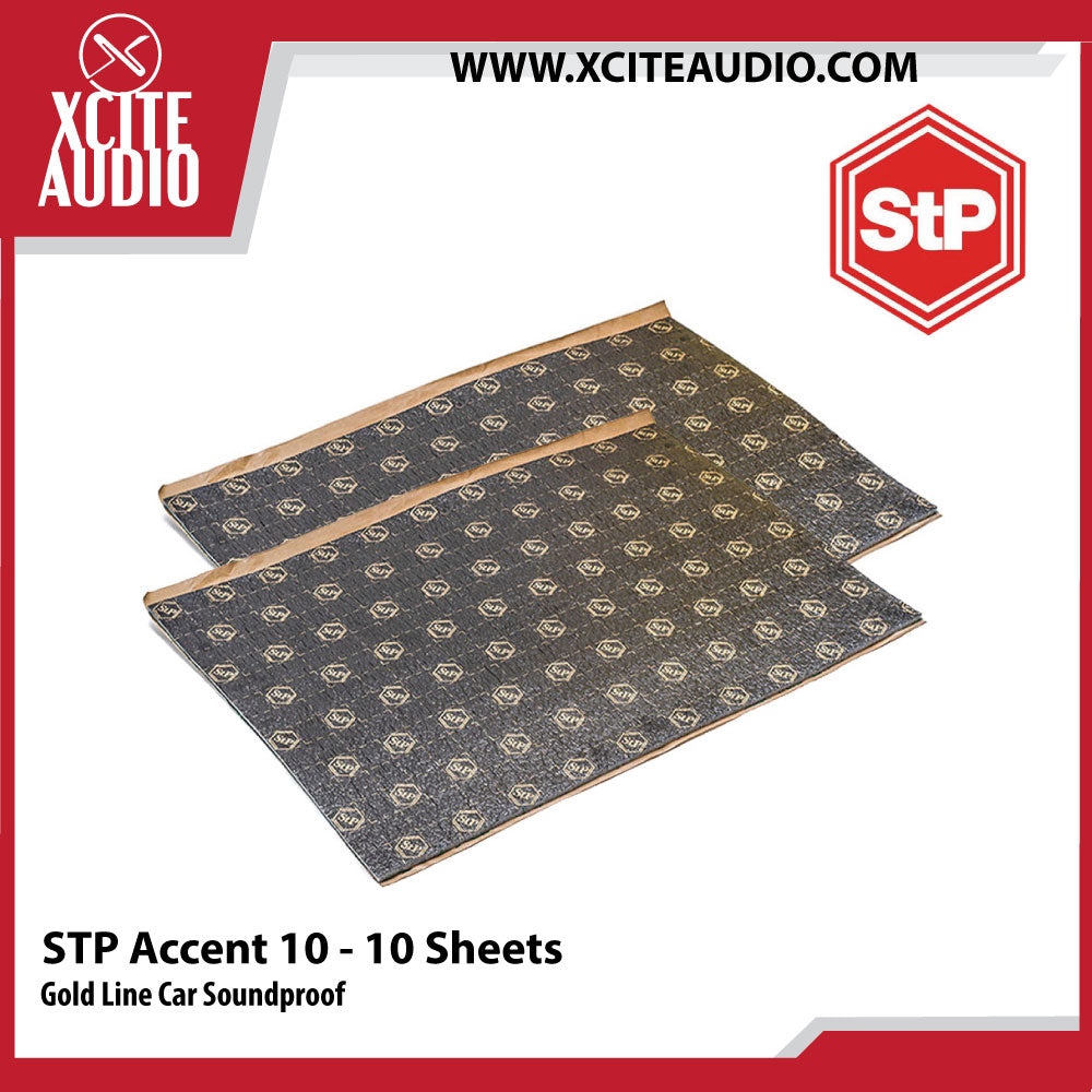 STANDARTPLAST Gold Line Accent 10 Car Soundproof - 10 Sheets