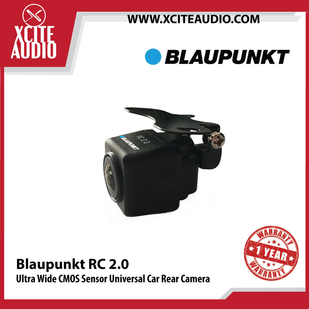 Blaupunkt RC 2.0 170° Ultra Wide CMOS Sensor Universal Car Rear View Camera