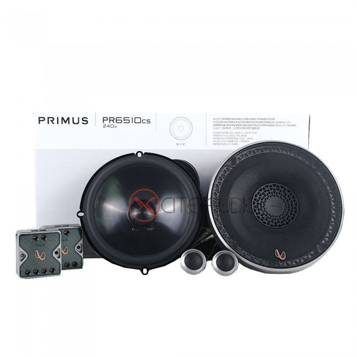 Infinity PR6510CS + PR6512iS + 6004A + 3000A + 1270B Car Audio Combo Foc 2 x STP Gold Soundproof & 2 x STP Aeroflex 6 - Xcite Audio