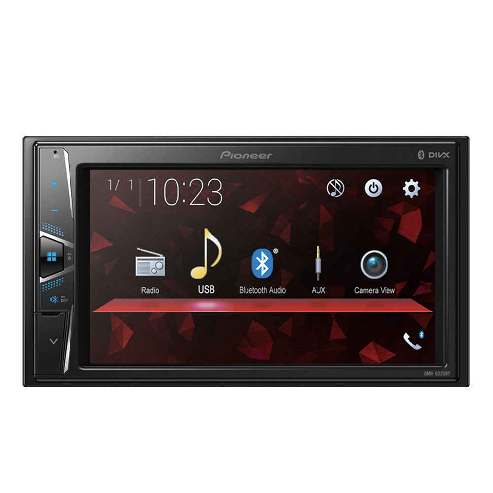 "Pioneer DMH-G225BT 6.2"" WVGA Bluetooth/USB/AUX AV Receiver Car Headunit (NO CD)"