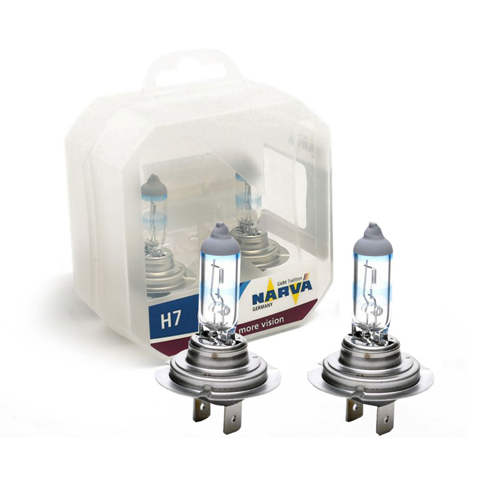Narva H7 12 Volt 55W Range Power 110% Halogen Bulb - Xcite Audio