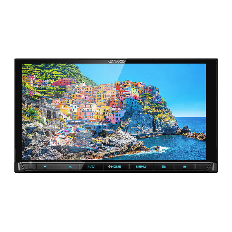 "Kenwood DNX9190S 6.8"" AV Navigation with High Definition Display Car Headunit - FOC DRV-N520 (With 8GB SD Card) - Xcite Audio"