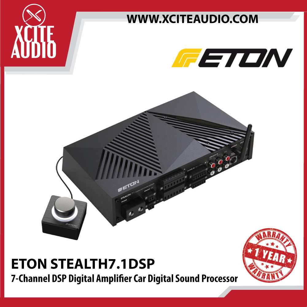ETON STEALTH-7.1DSP 7-Channel DSP Digital Amplifier Car Digital Sound Processor