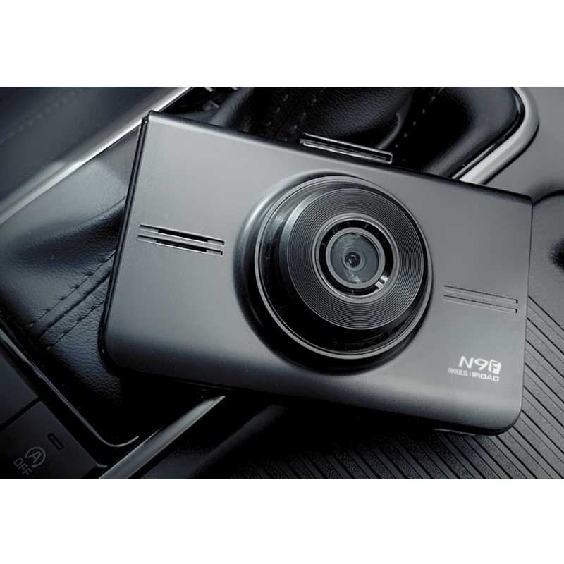 IROAD N9F Full HD 1080P + Wifi Connection Night Vision Car Camera with Motion Detection & Parking Mode Dashcam Camera - Xcite Audio