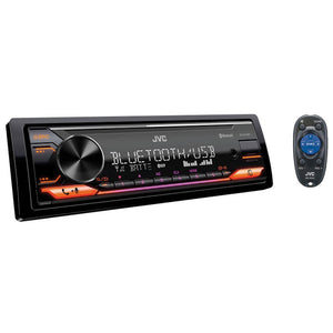 JVC KD-X472BT Digital Media Receiver Bluetooth/USB/AUX/Spotify/FLAC Car Headunit (NO CD) - Xcite Audio