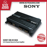 Sony XM-N1004 4/3/2 Channel 70W RMS x 4 Power Car Amplifier - Xcite Audio