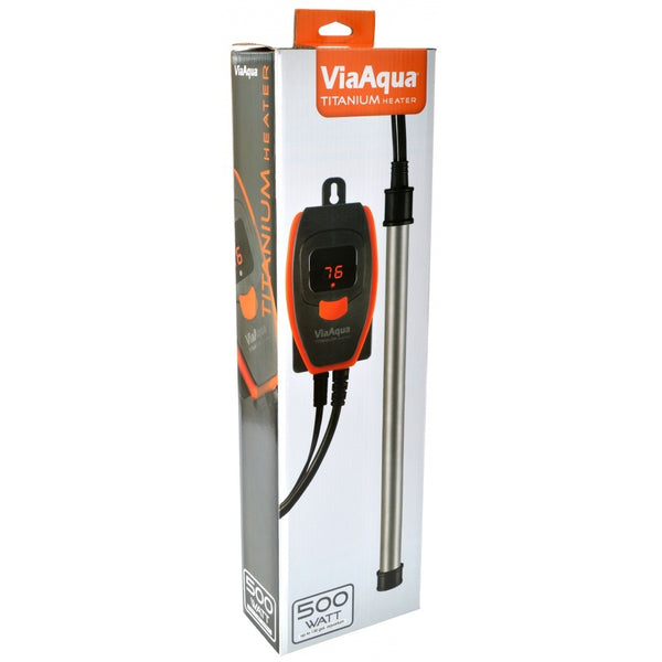 ViaAqua 100 Watt Titanium Heater with Controller