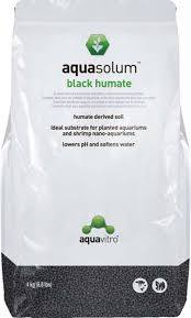 Aquasolum Humate Black Shrimp Sand 8.8 lbs
