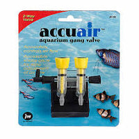 JW Accuair Aquarium Gang Valve 2 Way