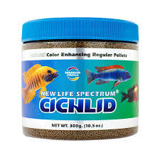 New Life Spectrum Cichlid Diet Sinking Pellet 1-1.5 mm 300 g