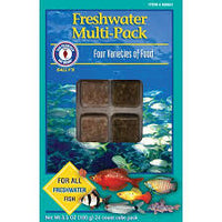 Sanfrancisco Bay Brand Frozen Freshwater Muti Pack 7 oz Cube