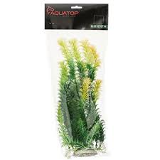 "Aquatop Plant Bushy Yellow Tipped Green 20"" BH-40"