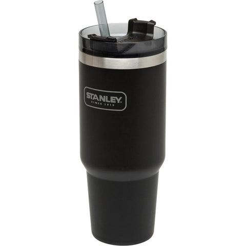 STANLEY | ADVENTURE Insulated Vacuum Quencher Travel Cup Large 887ml (30oz) - Black