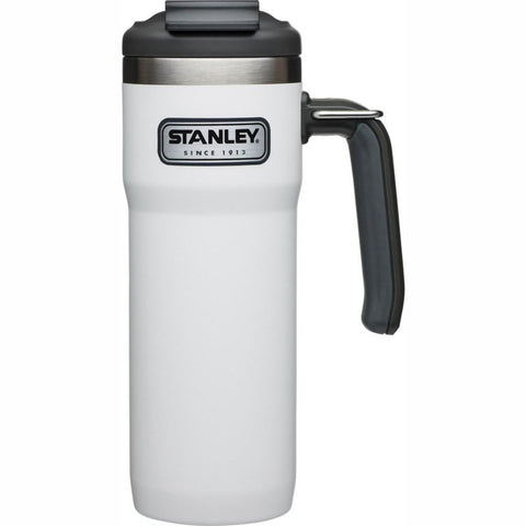 STANLEY | CLASSIC Vacuum Lock Travel Mug 20oz  - Polar White **LIMITED EDITION**