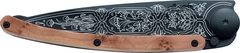 DEEJO KNIFE | Juniper Wood 37g BLACK - 1920s
