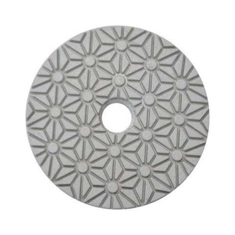 Stonex 3 Step White Face Polishing Pad - Gold Series - 100mm / 4""