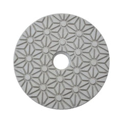 Stonex 3 Step White Face Polishing Pad - Gold Series - 100mm / 4