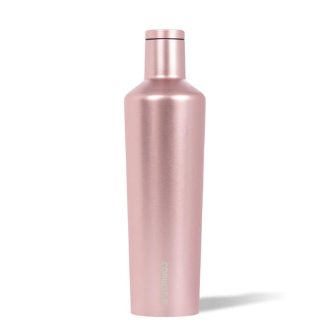 CORKCICLE | Stainless Steel Insulated Canteen 25oz (750ml) - Metallic Rose