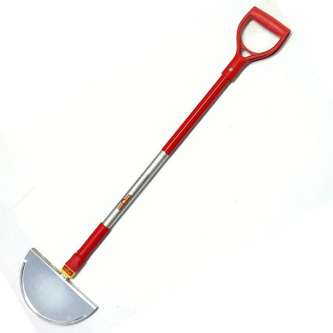"WOLF GARTEN | Half Moon Garden Edger - With Fixed ""D"" Handle"
