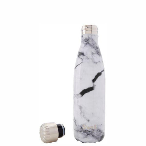S'Well | Insulated Bottle ELEMENTS Collection 500ml - White Marble