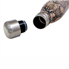 S'Well | Insulated Stainless Steel Bottle EXOTICS Collection 500ml - Sand Python