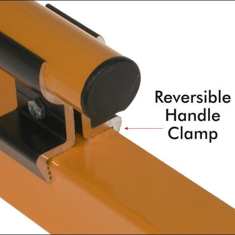 AMI Professional Powder Coated Aluminium Clamped Handle Screed