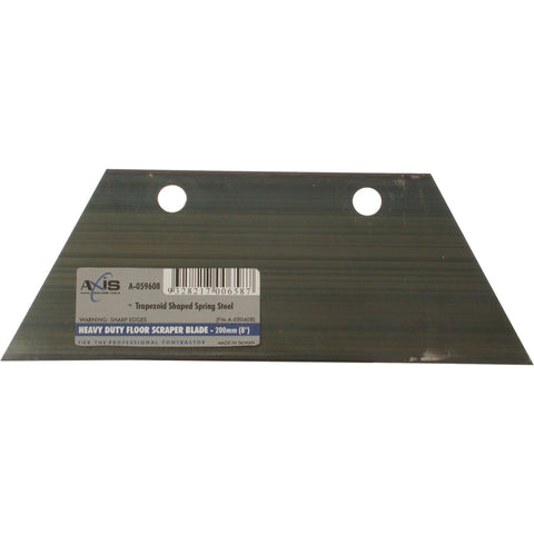 AXIS | Replacement Trapezoid Floor Scraper Blade - 200mm