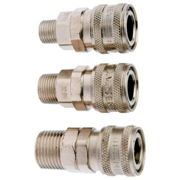 Air Fittings Hi-Volume Socket - Male Thread