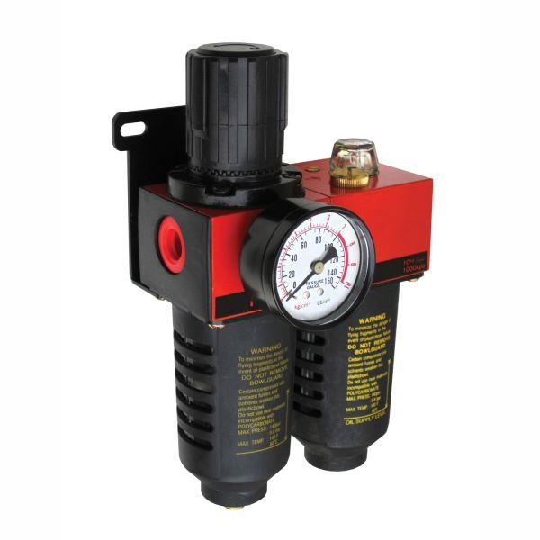 "Alliance 1/2"" Air Filter Regulator Lubricator"