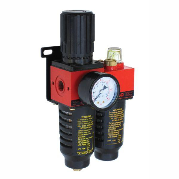 "Alliance 1/4"" Air Filter Regulator Lubricator"