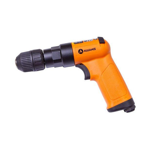 ALLIANCE | Pneumatic 10mm Reversible Pistol Drill with Plastic Keyless Chuck - Composite Body