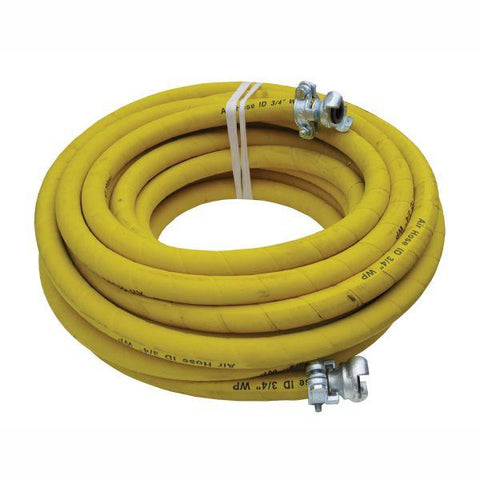 Alliance 25mmID x 20m H/D Braided Rubber Air Hose - Claw Coupling Ends