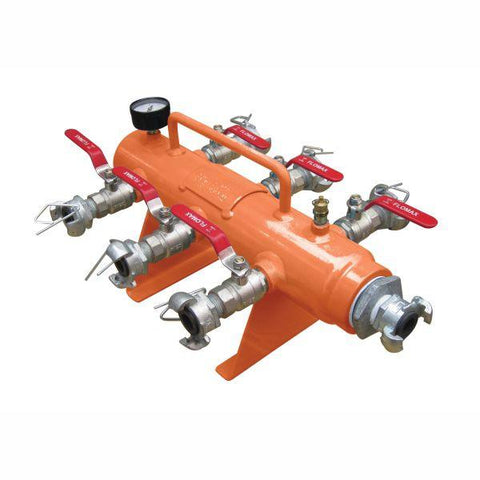 ALLIANCE | Pneumatic 6 Port Straight Manifold