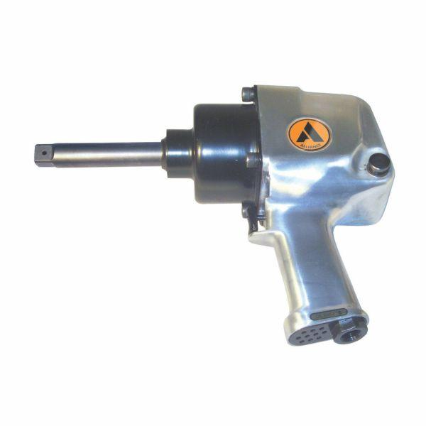 "Alliance Air 1 in. Pistol Grip Impact Wrench 6"" Extended Anvil"