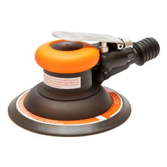 Alliance Air 150mm Palm Grip Sander - Central Vacuum - 5mm Orbit