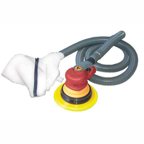 Alliance Air 150mm Palm Grip Sander - Self Vacuum