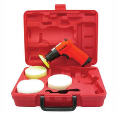 Alliance Air 75mm Single Action Polisher Kit in open case