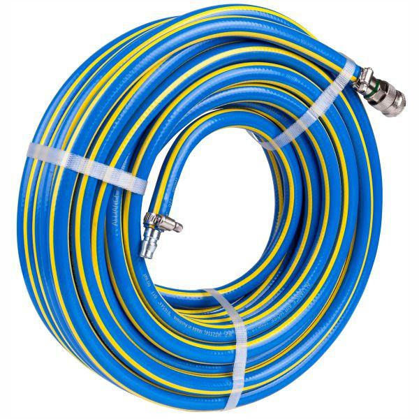 Alliance 12mmID x 20m Braided PVC Air Hose + N Series Quick Couplers