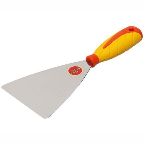 Ancora 501/IS Stainless Steel Putty Knife - SINTESI Soft Grip