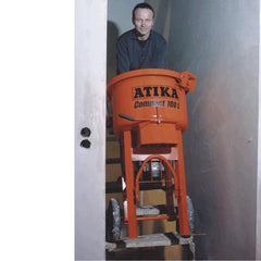 ATIKA | Compact 100Ltr Electric Pan/Mortar Screed Mixer Machine