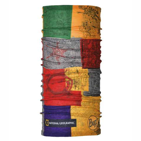 BUFFWEAR® | Original Multifunction Tubular Neckwear - National Geographic - Temple