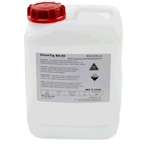 Keztek WELDBrush BE50 CleanTIG Weld Cleaning and Polishing Solution - Clear - Standard