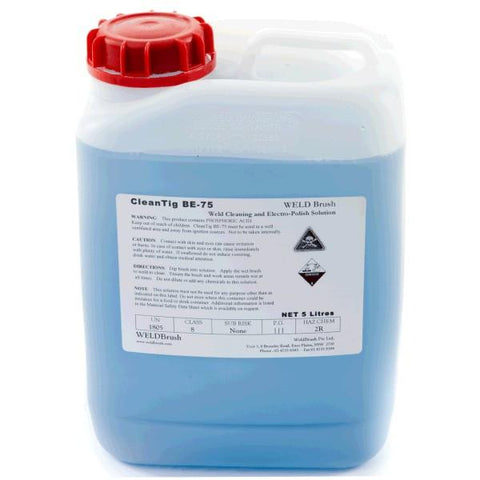 Keztek WELDBrush BE75 CleanTIG Weld Cleaning and Polishing Solution - Blue - Heavy Duty