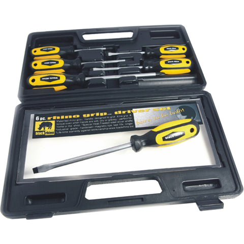 BLACK RHINO | PRO Driver Screwdriver Kit - 6 piece
