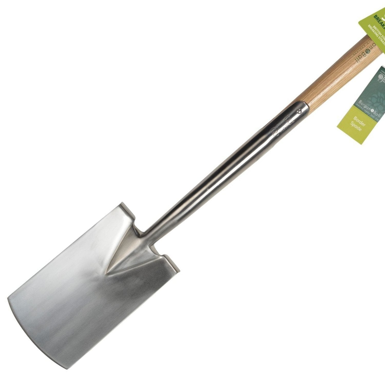 BURGON & BALL | Garden Border Spade - RHS Endorsed